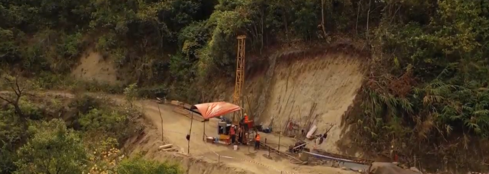 Sixth rig brought into action at Blackstone's promising Vietnam nickel play