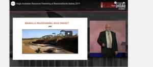 ResourceStocks 2019 video presentation: Anglo Australian Resources NL