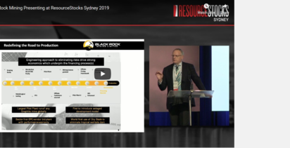 ResourceStocks 2019 video presentation: Black Rock Mining