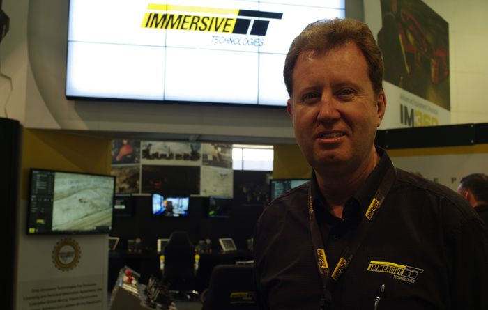 Immersive to be snapped up by Komatsu
