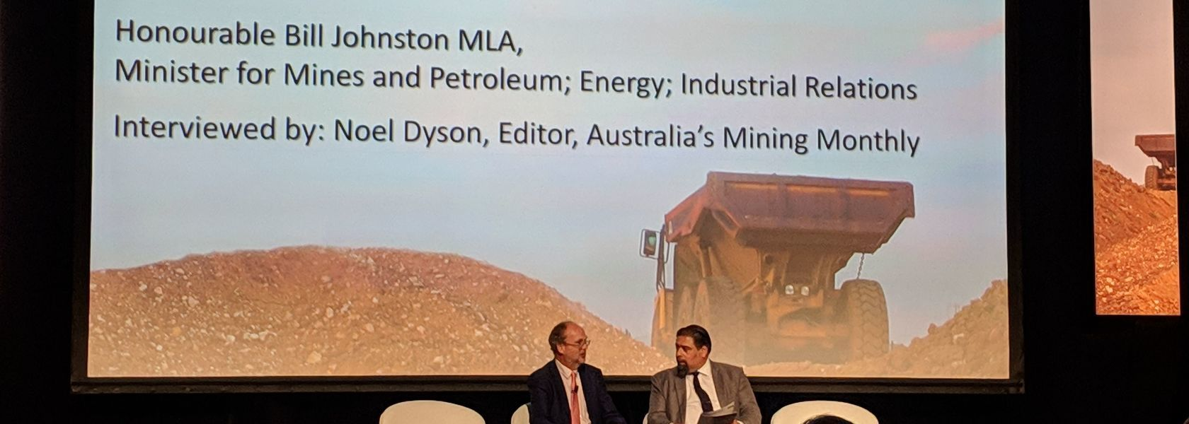 Johnston talks up WA's mining tech ambitions
