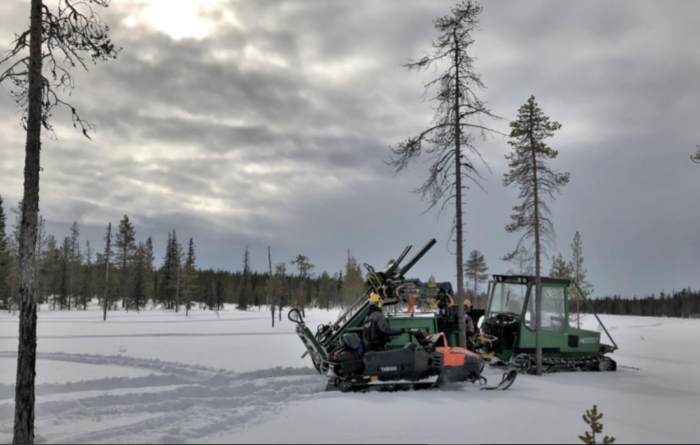 S2 diamond drilling cores gold at new Finland target